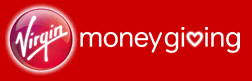 Virgin Money Giving button